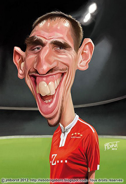 ribery phrases culte caricature