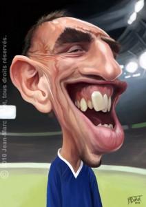 Ribéry caricature coupe du monde phrase culte