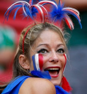 supportrice française