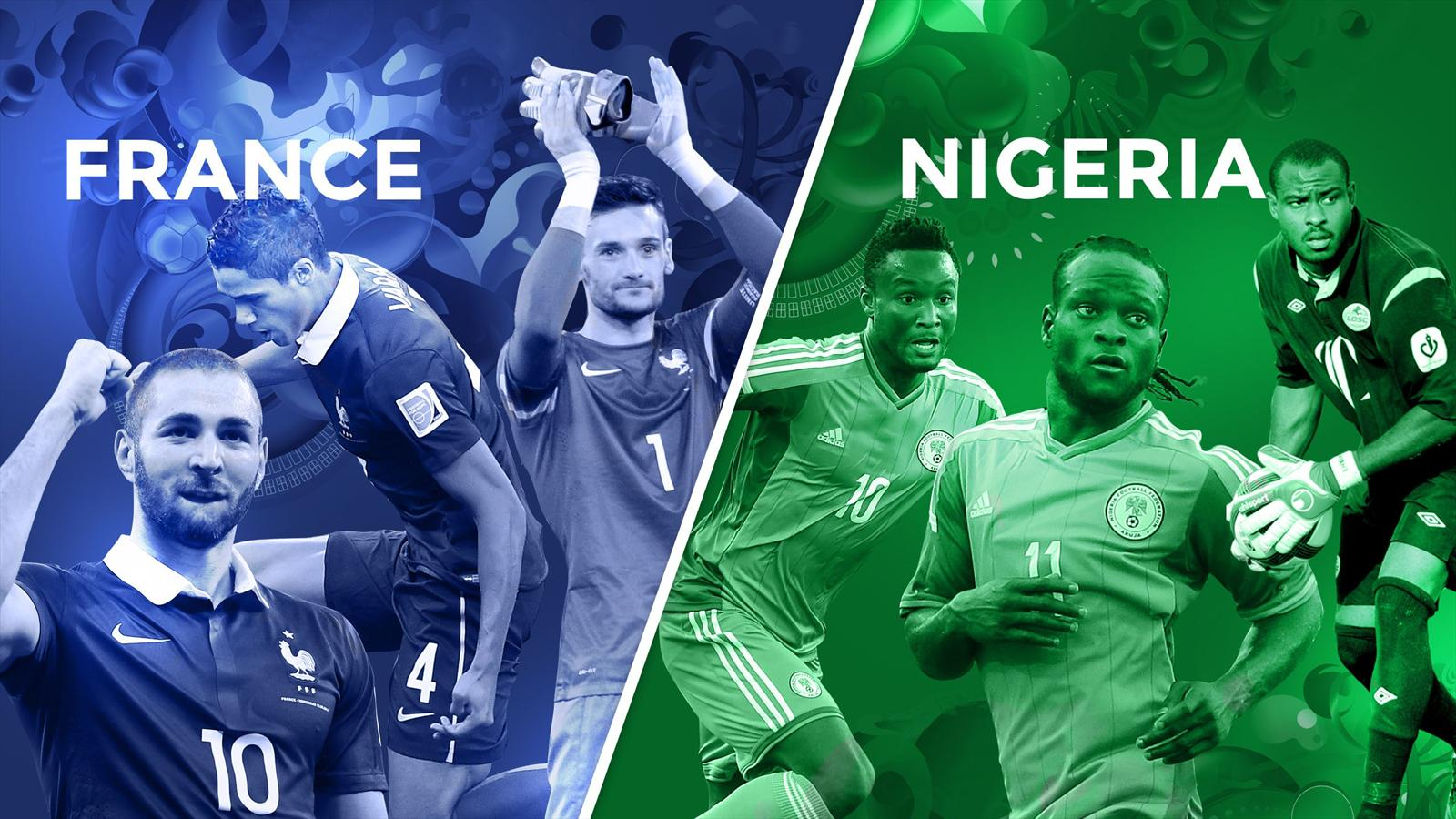 france nigeria FRANIG world cup