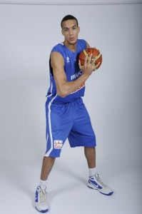 Rudy Gobert basket ball france