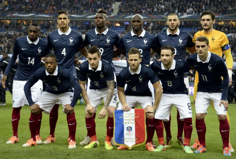 football equipe france