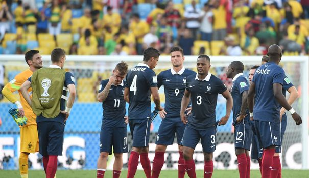 Bleus élimination mondial quart de final