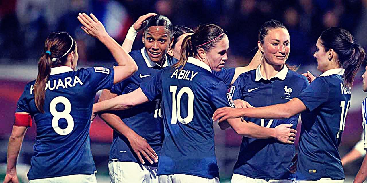 L'équipe de France féminine mondial 2015