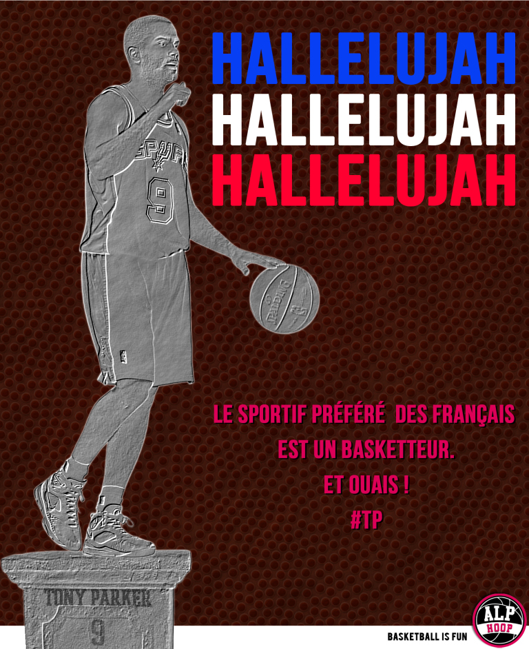 Parker sportif préféré des français ! (crédits: alphoop)