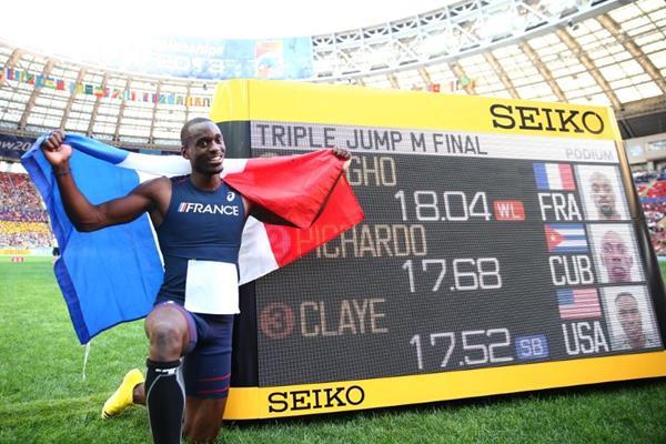 Mondiaux d'athlétisme 2013 à Moscou