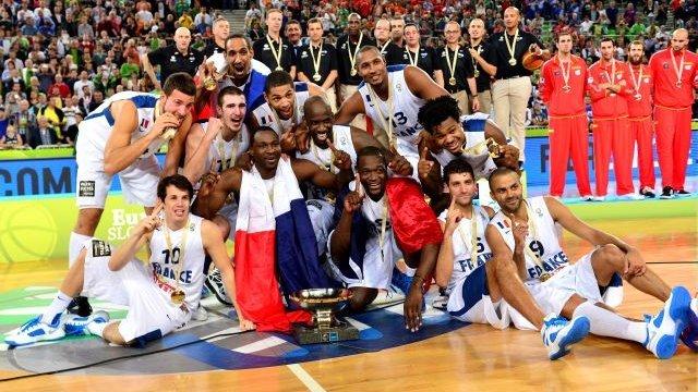 L'Eurobasket 2013 de l'équipe de France
