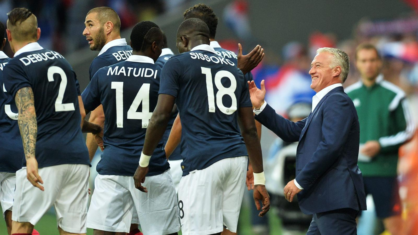 Deschamps Bleus Mondial 2014 France