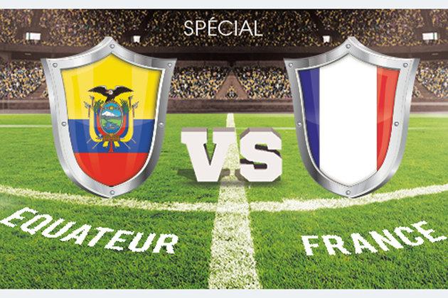 9 points de vue insolites et instructifs autour du match France-Equateur (0-0)