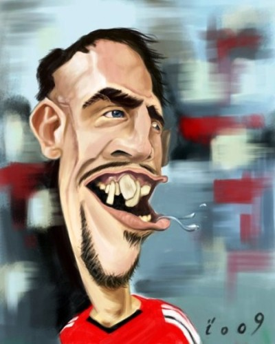 Ribéry caricature coupe du monde
