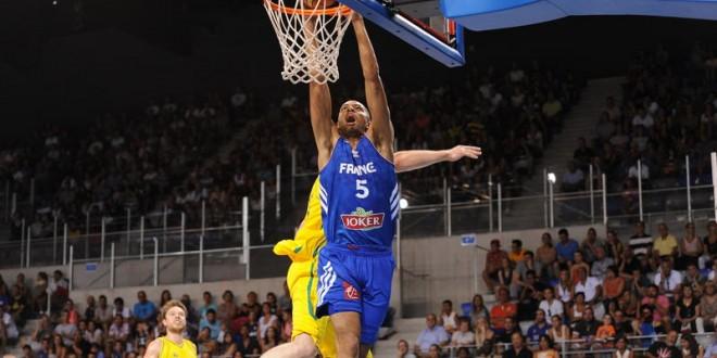 Basket – 2 défaites et une victoire à Antibes pour l'équipe de France