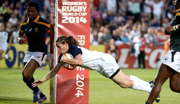 Coupe du monde de rugby féminin : La France écrase l'Afrique du sud