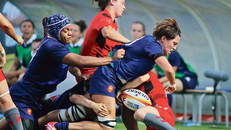 Rugby féminin – les bleues en demi-finale du mondial