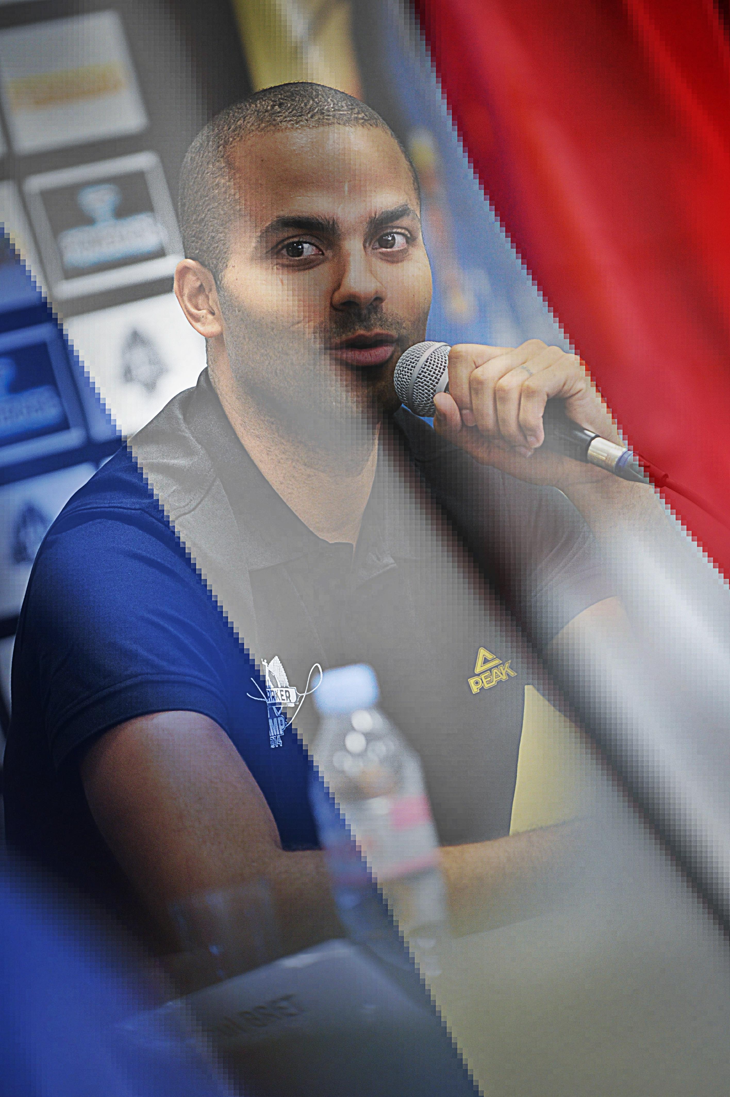Tony Parker, le patron du basket français