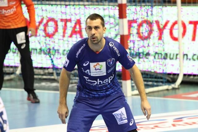 Michaël Guigou, l'homme fort de l'équipe de France de handball