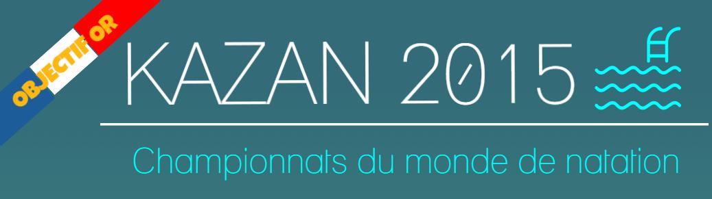 INFOGRAPHIE : Les championnats du monde de natation 2015